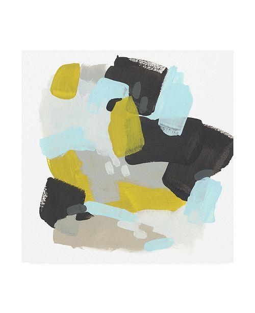 "Trademark Global June Erica Vess Introspect I Canvas Art - 36.5"" x 48"""