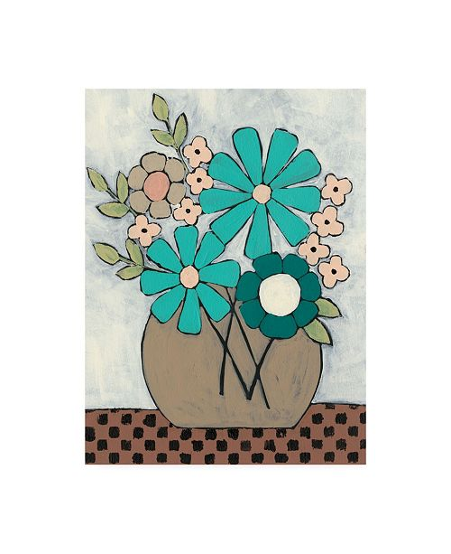 "Trademark Global Regina Moore Mid Summer Bouquet II Canvas Art - 19.5"" x 26"""