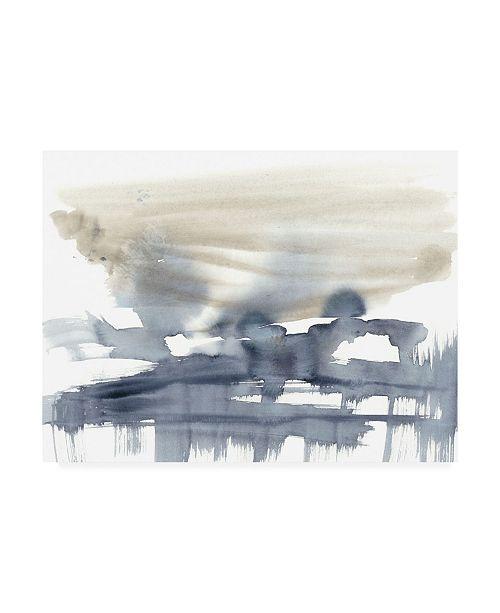 "Trademark Global Jennifer Goldberger Paynes Bloom II Canvas Art - 19.5"" x 26"""