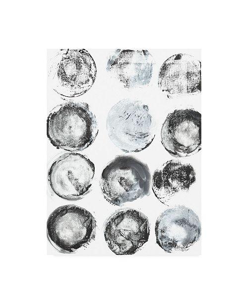 "Trademark Global Jodi Fuchs B and W Imprint I Canvas Art - 19.5"" x 26"""