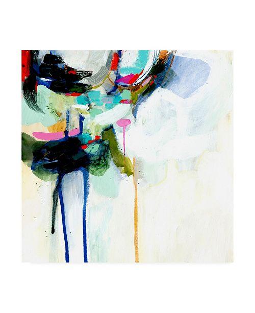"Trademark Global Victoria Borges Collider IV Canvas Art - 15.5"" x 21"""