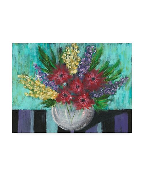 "Trademark Global Regina Moore Early Summer Blooms II Canvas Art - 19.5"" x 26"""