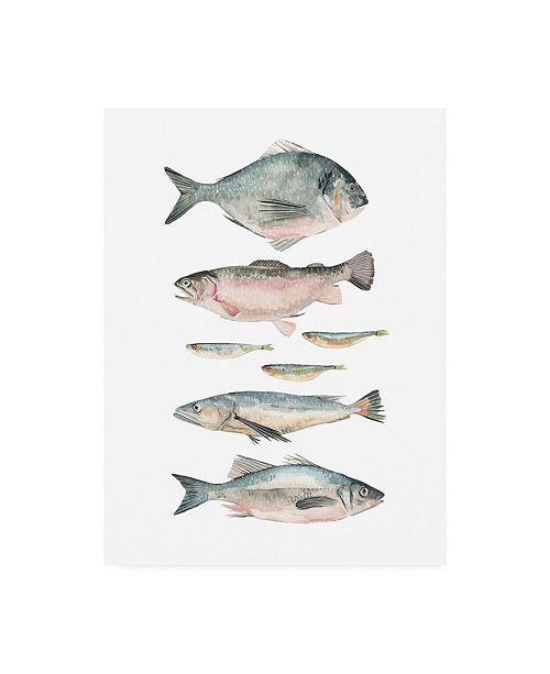 "Trademark Global Emma Scarvey Animals Canvas Art - 15.5"" x 21"""