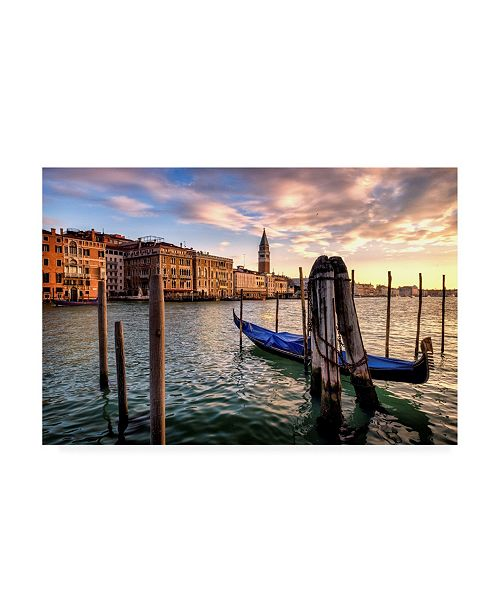 "Trademark Global Danny Head Venice Morning Canvas Art - 36.5"" x 48"""