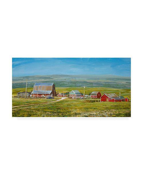"Trademark Global Peter Snyder Cypress Hills Farm Canvas Art - 19.5"" x 26"""