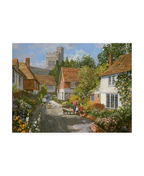 """Trademark Global Peter Snyder Smarden, Kent Canvas Art - 36.5"""" x 48"""""""