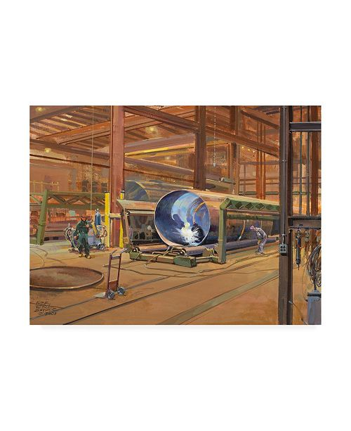 "Trademark Global Peter Snyder Industrial Theatre Canvas Art - 36.5"" x 48"""