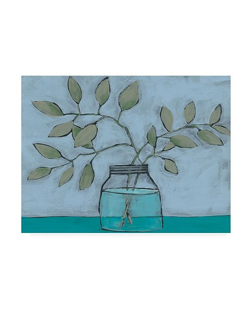 "Trademark Global Regina Moore Jar of Stems II Canvas Art - 36.5"" x 48"""