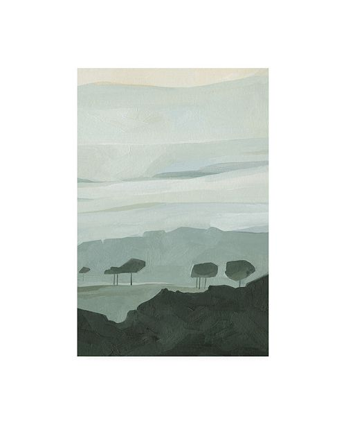 "Trademark Global Emma Scarvey Blue Ridge Fog II Canvas Art - 36.5"" x 48"""