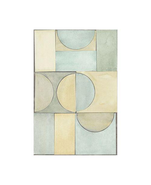 "Trademark Global Renee W. Stramel Lacuna Study II Canvas Art - 19.5"" x 26"""