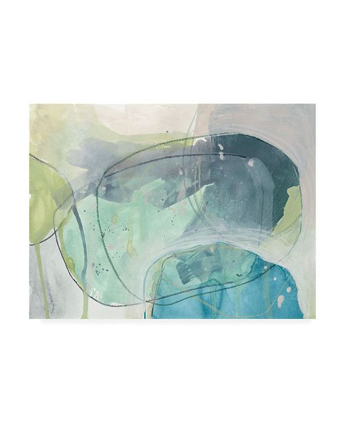 "Trademark Global June Erica Vess Sea Stone II Canvas Art - 36.5"" x 48"""