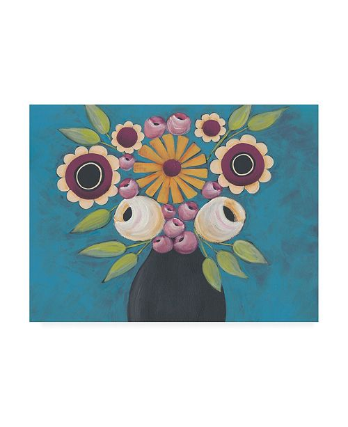 "Trademark Global Regina Moore Flowers Galore I Canvas Art - 19.5"" x 26"""
