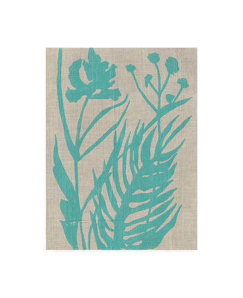 "Trademark Global Chariklia Zarris Dusk Botanical IV Canvas Art - 19.5"" x 26"""