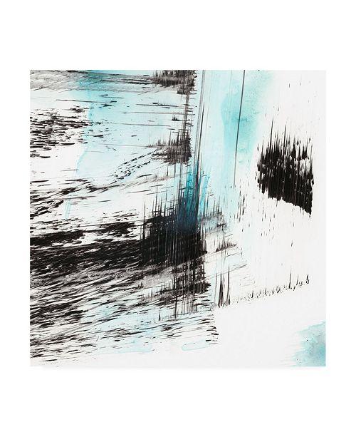 "Trademark Global Ethan Harper Dynamic Frost I Canvas Art - 36.5"" x 48"""