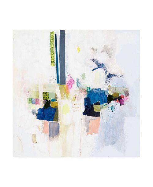 "Trademark Global Victoria Borges Boardwalk Taffy I Canvas Art - 36.5"" x 48"""