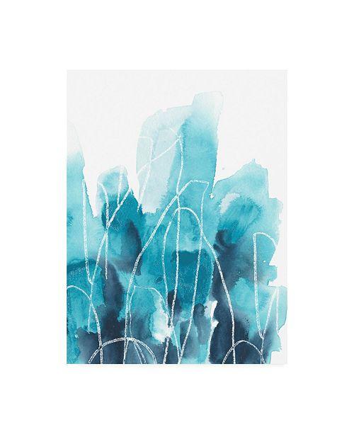 "Trademark Global June Erica Vess Abstract Coral II Canvas Art - 36.5"" x 48"""