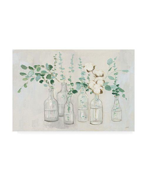 """Trademark Global Julia Purinton Summer Cuttings III V2 Canvas Art - 37"""" x 49"""""""