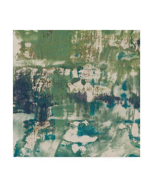 "Trademark Global Jennifer Goldberger Obscured Horizon I Canvas Art - 20"" x 25"""