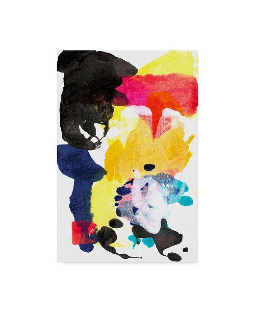 "Trademark Global Jodi Fuchs Paint Bloom I Canvas Art - 15"" x 20"""