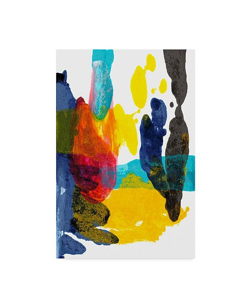 "Trademark Global Jodi Fuchs Paint Bloom III Canvas Art - 20"" x 25"""