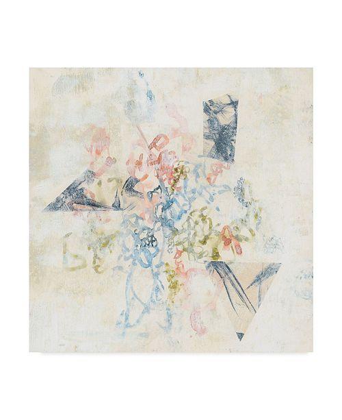 "Trademark Global Jennifer Goldberger Pastel Scribble II Canvas Art - 20"" x 25"""