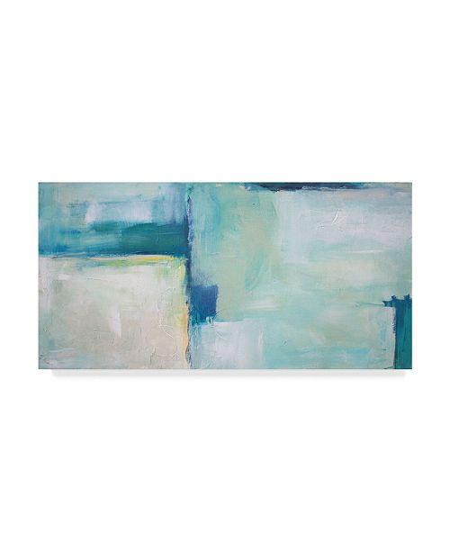 """Trademark Global Julia Contacessi Macro Blue Canvas Art - 37"""" x 49"""""""