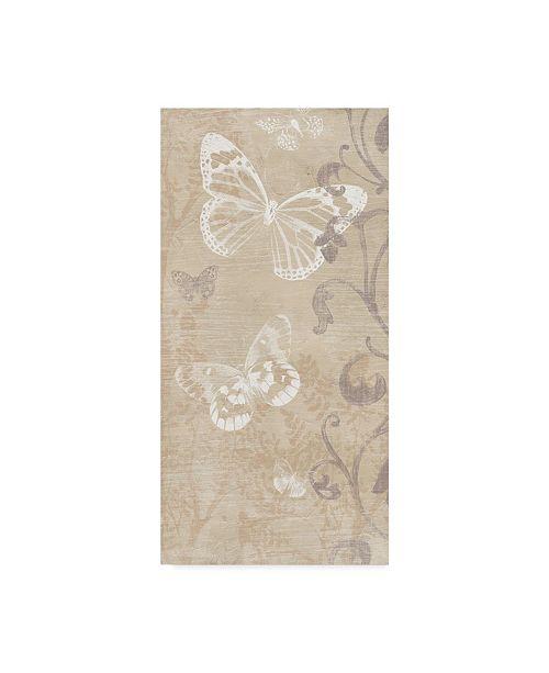 "Trademark Global June Erica Vess Butterfly Forest II Canvas Art - 15"" x 20"""