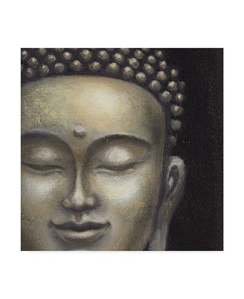 "Trademark Global Naomi Mcbride Serene Buddha Ii Crop Canvas Art - 20"" x 25"""