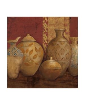 """Trademark Global Avery Tillmon Aegean Vessels Spice Extra Vessel Crop Canvas Art - 15"""" X 20"""" In Multi"""