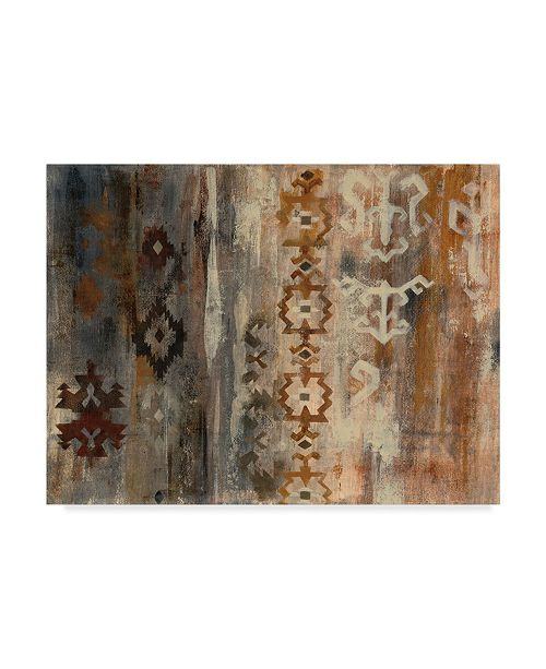 "Trademark Global Silvia Vassileva Southwest Design II Canvas Art - 20"" x 25"""