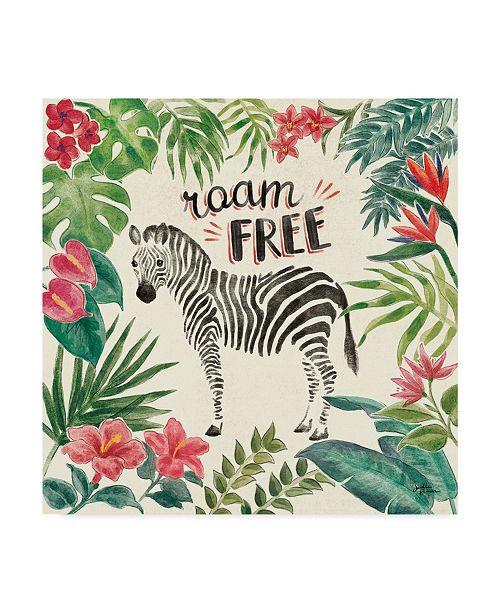 "Trademark Global Janelle Penner Jungle Vibes IV Canvas Art - 20"" x 25"""