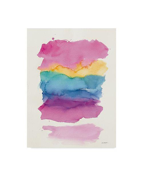 "Trademark Global Mike Schick Miami Colors Canvas Art - 15"" x 20"""
