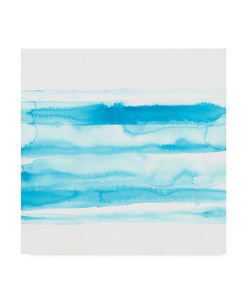 "Trademark Global June Erica Vess Spectrum Echo IV Canvas Art - 20"" x 25"""
