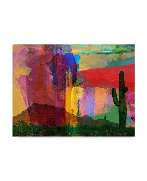 "Trademark Global Sisa Jasper Mesa Abstract Canvas Art - 15"" x 20"""