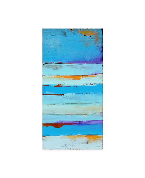 "Trademark Global Erin Ashley Blue Jam II Canvas Art - 15"" x 20"""