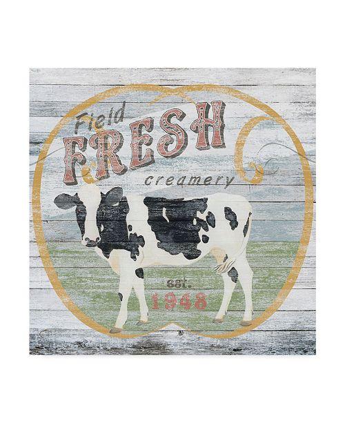 "Trademark Global June Erica Vess Farm Supply IV Canvas Art - 20"" x 25"""