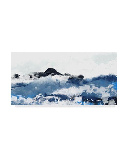 "Trademark Global June Erica Vess Sea Surface I Canvas Art - 15"" x 20"""