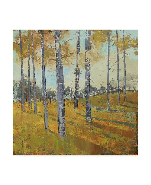 "Trademark Global Julie Joy Thicket on the Hill I Canvas Art - 20"" x 25"""