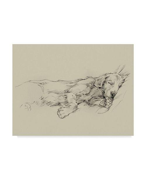 "Trademark Global Ethan Harper Dog Days III Canvas Art - 15"" x 20"""