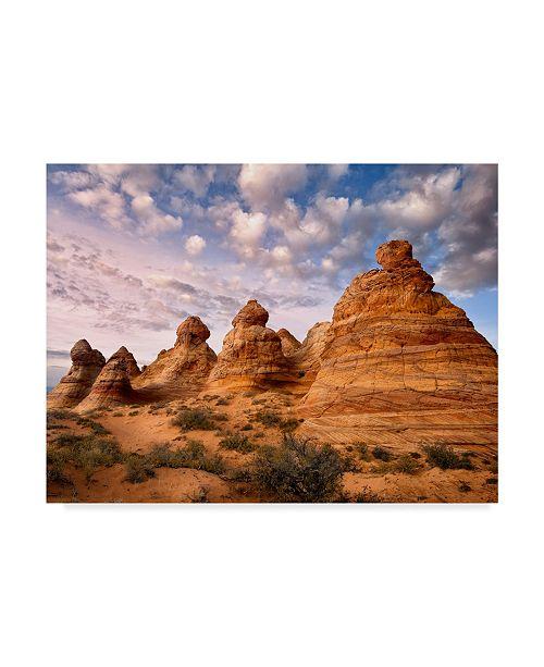 "Trademark Global David Drost Arizona Peaks I Canvas Art - 20"" x 25"""
