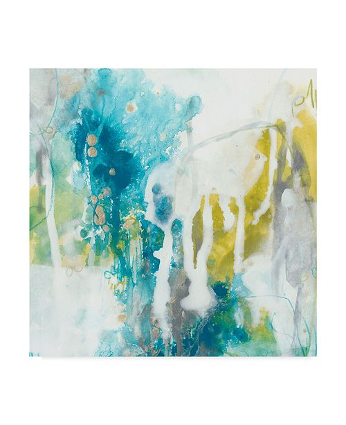 "Trademark Global June Erica Vess Aquatic Atmosphere I Canvas Art - 15"" x 20"""
