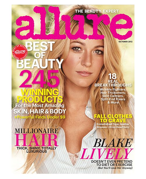 Macy's Receive a bonus one year subscription to Allure Magazine with any $75 beauty purchase