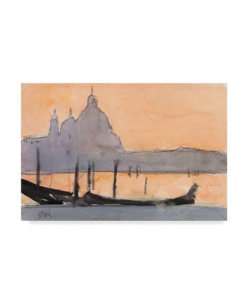 "Trademark Global Samuel Dixon Venice Watercolors X Canvas Art - 15"" x 20"""