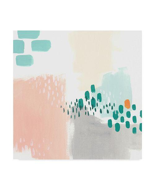 "Trademark Global June Erica Vess Precept IV Canvas Art - 27"" x 33"""