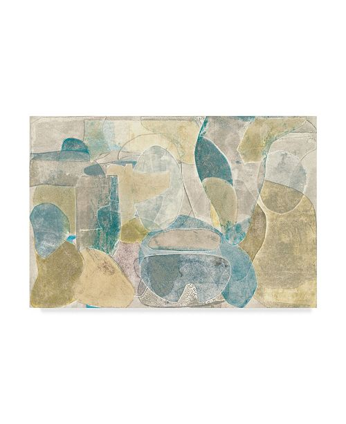 "Trademark Global Rob Delamater Sea Glass II Canvas Art - 15"" x 20"""