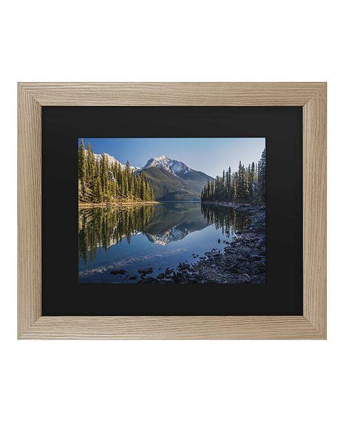 "Trademark Global Pierre Leclerc Jasper Morning Matted Framed Art - 27"" x 33"""