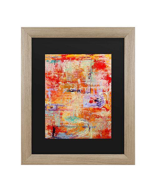 """Trademark Global Pat Saunders-White Odessy Matted Framed Art - 27"""" x 33"""""""