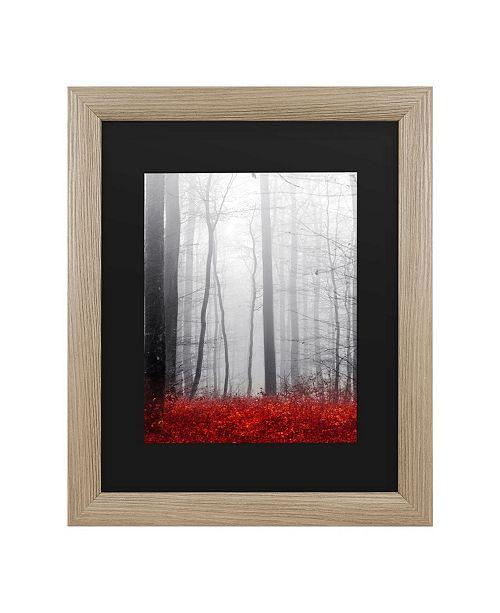 "Trademark Global Philippe Sainte-Laudy Little Red Carpet Matted Framed Art - 27"" x 33"""