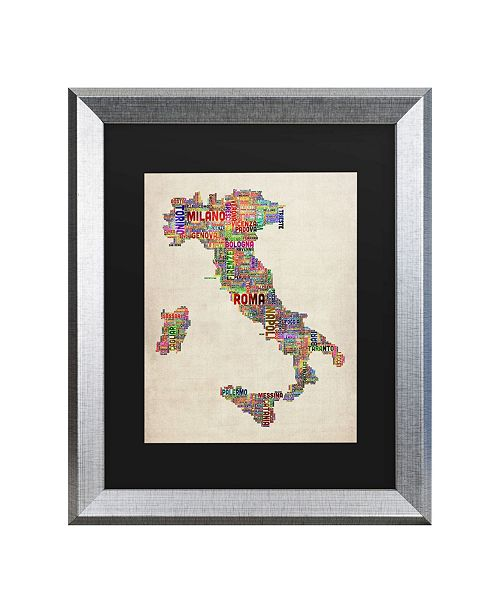 "Trademark Global Michael Tompsett Italy II Matted Framed Art - 20"" x 25"""