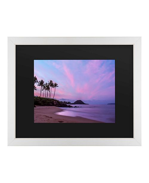 "Trademark Global Pierre Leclerc Secret Beach Matted Framed Art - 20"" x 25"""